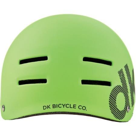 DK Synth Green BMX/Skating Helmet