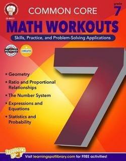Karice Mace: Common Core Math Workouts, Grade 7 (Paperback); 2014 Edition