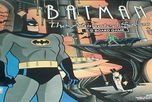 Batman The Animated Series 3-D Board Game by Parker Brothers