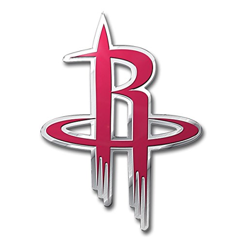 NBA Houston Rockets Color Auto Emblem, One Size, One - Outlet Houston Premium
