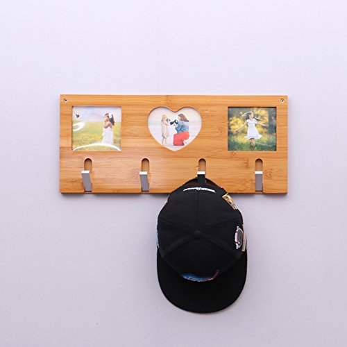 SDFDSVDCGVSGVCGD Wall Coat Rack,Bedroom Wood Hanger Wall Hanger Clothes Rack Living Room Entrance Frame Hook-A by SDFDSVDCGVSGVCGD (Image #5)