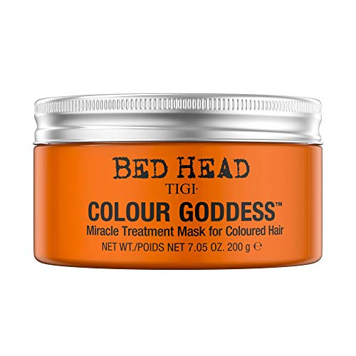 - TIGI Bed Head Color Goddess Miracle Treatment Mask for Unisex, 7.05 Ounce