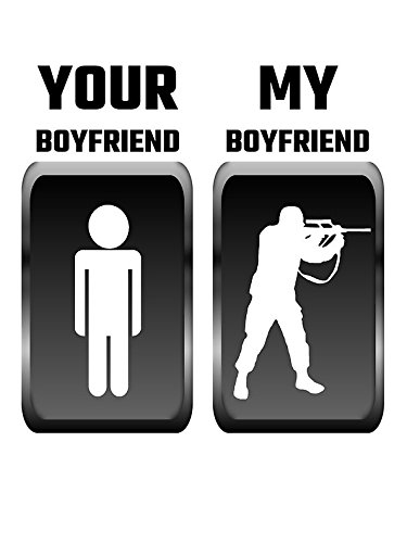 ICK Vinyl Your Boyfriend My Boyfriend Military Sticker Decal Car Bumper Sticker 5