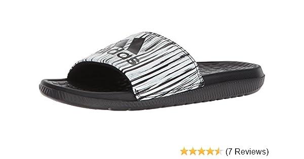 hot sale online f5385 7e9b5 Amazon.com   adidas Men s Voloomix GR, Black Silver Metallic White, 5 M US    Sandals