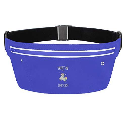 Rainbow Magnet Trust Lovely Charming Me I M A Unicorn Frauen Fanny Pack Waist Bag Sling Pocket Super Lightweight Running Belt Bags For Men/Women