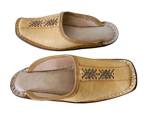 indiane da in di etniche pelle scarpe Camicia uomo di tradizionali Creations Kalra qcZWwHWS6