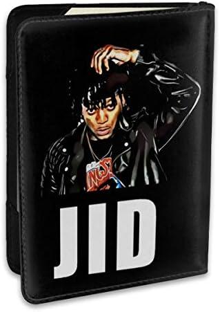 J-I-D Rapper パスポートケース メンズ 男女兼用 パスポートカバー パスポート用カバー パスポートバッグ ポーチ 6.5インチ高級PUレザー 三つのカードケース 家族 国内海外旅行用品 多機能