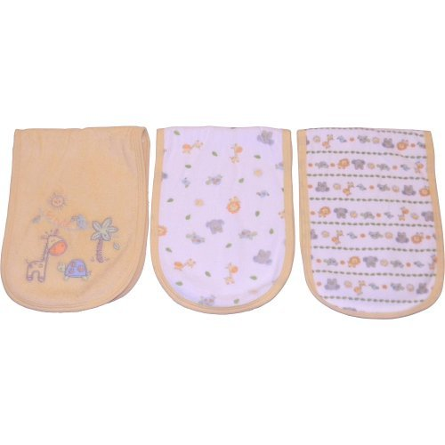Babies R Us Neutral 3Pk Terry Burpcloth by Babies R Us [並行輸入品]   B014MX7UU8