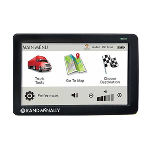 Rand McNally TND530 Truck GPS with Lifetime Maps and Wi-Fi (Certified Refurbished)