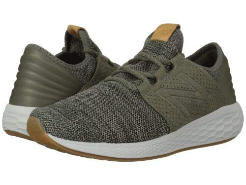 New Balance Fresh Foam Cruz v2 Knit Shoe – Men's Casual Military Foliage Green/Rosin