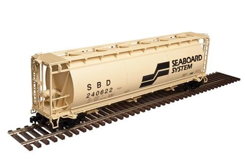 Atlas Master 20004371 HO Scale Ready to Run ACF(R) 3-Bay Cylindrical Hopper, Seaboard System #240624