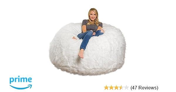 9cd5797606 Amazon.com  Comfy Sacks 6 ft Memory Foam Bean Bag Chair