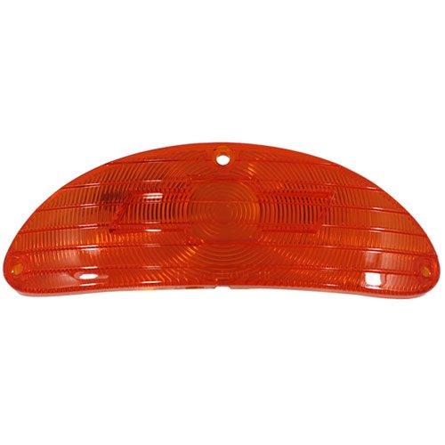 Trim Parts A1026 1955 Chevy Full Size Bowtie Parking Light Lens Amber