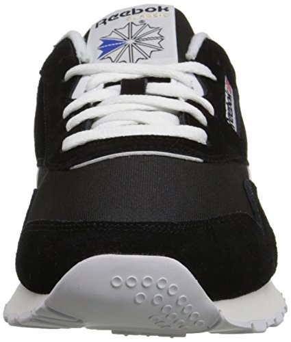 Adulte Classic Baskets Nylon Reebok Mixte Black White Noir nxpIHHZ
