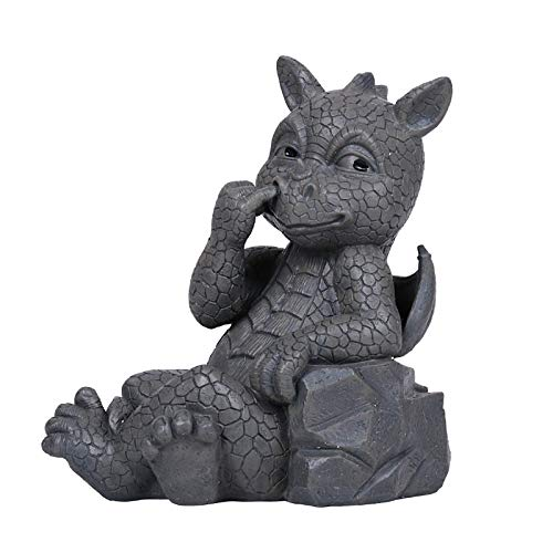Pacific Giftware Nose Picker Dragon Statue