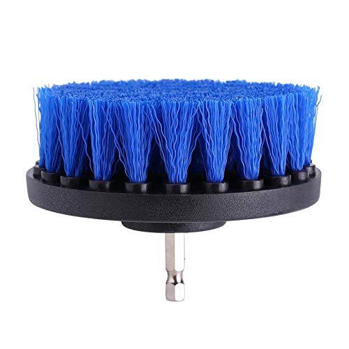FTVOGUE Limpiador de lechada de Azulejos con Cepillo para Polvo de Taladro, Herramienta de Limpieza para Inodoro, alfombras y...