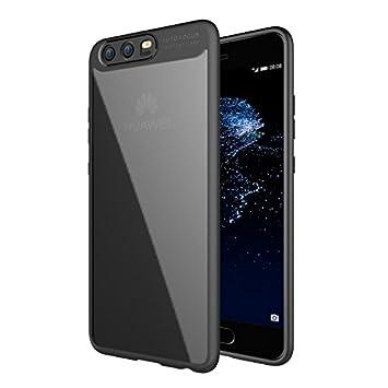 JIEXUN P10 Carcasa, Transparent silicone Carcasa para Huawei ...
