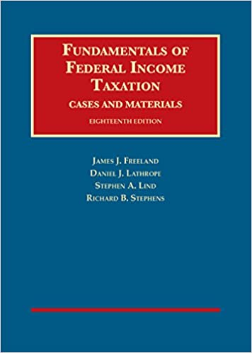 Amazon fundamentals of federal income taxation university fundamentals of federal income taxation university casebook series 18th edition fandeluxe Images