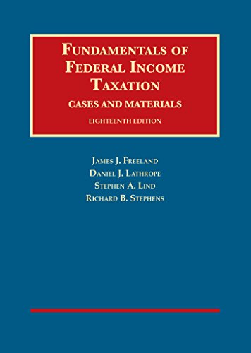 163460315X - Fundamentals of Federal Income Taxation (University Casebook Series)
