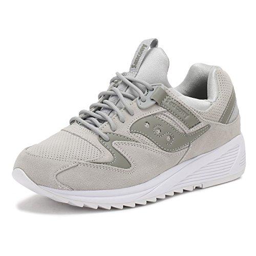 Saucony Uomo Grigio Grid 8500 HT Sneaker Grigio