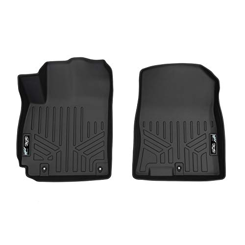 MAX LINER A0371 Custom Fit Floor Mats 1st Row Liner Set Black for 2018-2019 Hyundai Kona - No Electric ()