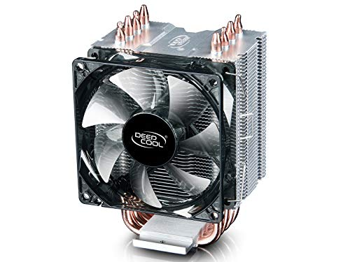 DEEPCOOL GAMMAXX C40 CPU Cooler,4 Heatpipes,92mm PWM Fan,Compact Heatsink Small Size for Intel/AMD CPUs (AM4 Compatible)