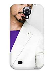 YY-ONE Design 10088 Robert Downey Jr Male Celebrity Hard YY-ONE For Galaxy S4