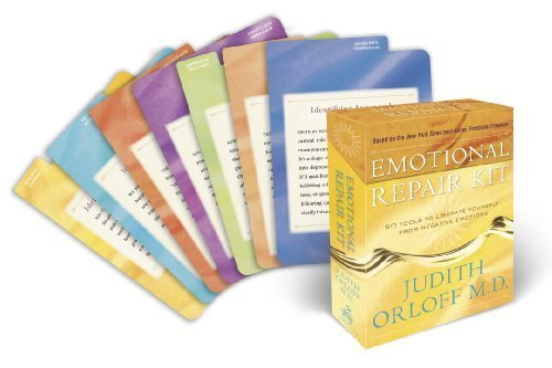 Emotional Repair Kit: 50 Tools to Liberate Yourself from Negative Emotions by Orloff, Judith (2009) Cards Emotional Tool Kit