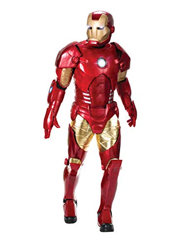 Rubie's Marvel Men's Universe Supreme Edition Iron Man Costume, Multi, Standard