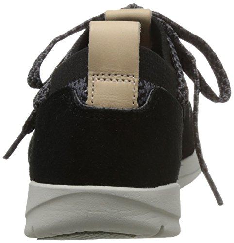 Damen Clarks Tri Combi Sneaker Amelia Schwarz Black HSdRSfwq