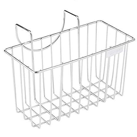 Stainless Steel Sink Drainer Basket.Amazon Com Stainless Steel Kitchen Sponge Holder Sink