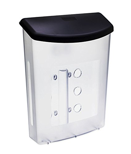 Source One Premium Large Outdoor Realtor Style Brochure Holder (S1-ODBH-BLK LID) (6 Pack)