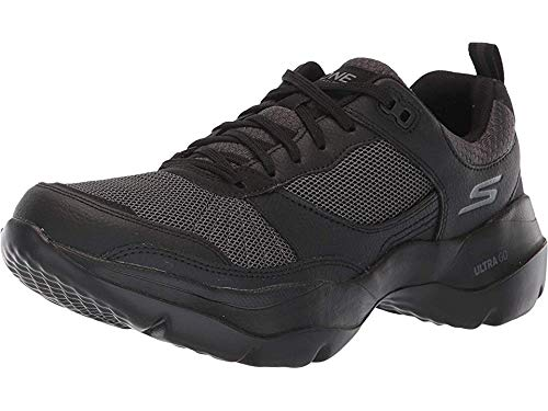 Womens Sneaker Karma - Skechers Womens ONE Vibe Ultra - Karma Black/Black Sneaker - 9