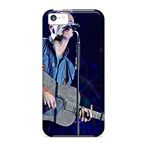 High Quality Mobile Case For Iphone 5c With Unique Design Colorful Coldplay Band Pattern InesWeldon
