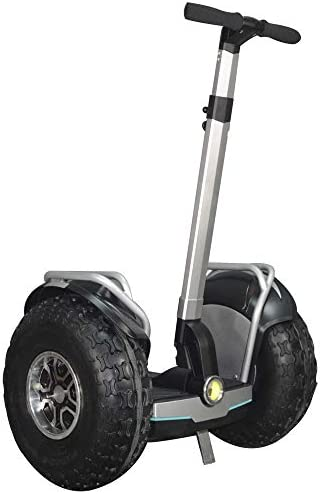 eco-glide Smart Self Balance Scooter Personal Transporter 19 inch All Terrain Tires Grey