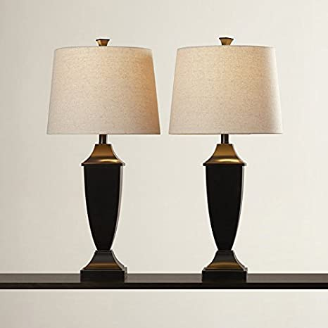 f2db9fc8244bb Contemporary Table Lamp Set of 2