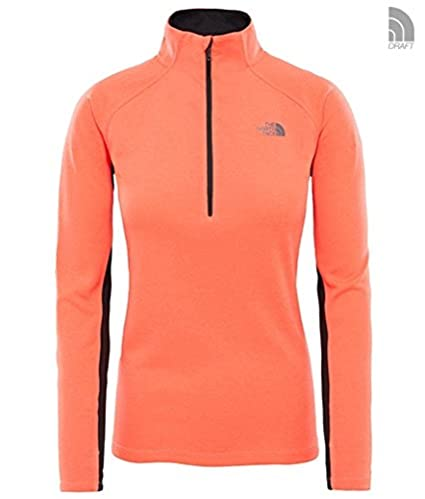 The North Face, T92uyc, Maglia A Maniche Lunghe Con Cerniera 1/4 Ambition, Donna