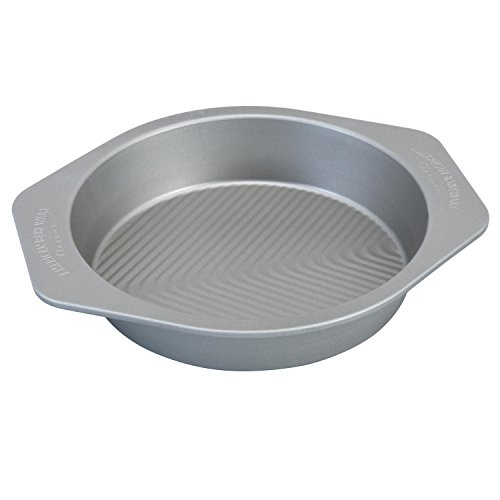 USA Pan 1070LC-2-ABC American Bakeware Classics 9'' Round Baking Pan, Aluminized Steel by USA Pan