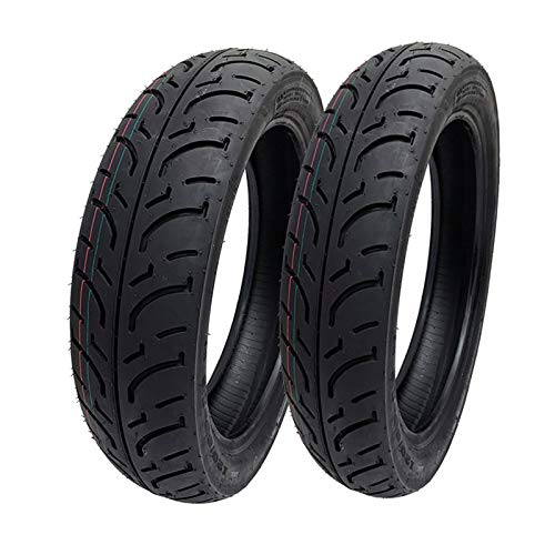 MMG Tire Set Front 100/80-16 Rear 120/80-16, Compatible with Aprilia Scarabeo 125 Ninja 250r Street Performance