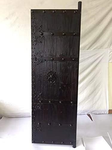 Puerta medieval antiguos de puertas de madera maciza puerta corredera clavados Breite70 cm x Höhe200cm: Amazon.es: Bricolaje y herramientas