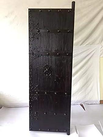 Puerta medieval antiguos de puertas de madera maciza puerta ...