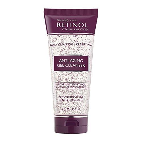 Retinol Anti Aging Gel Cleanser Antioxidant Rich product image