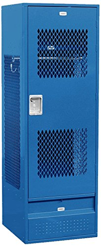 Salsbury Industries 72024BL-U Unassembled 6-Feet High 24-Inch Deep Standard Gear Metal Locker Ventilated Door, Blue by Salsbury Industries