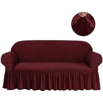 Amazon Com Niceec Sofa Slipcover Green Sofa Cover 1 Piece