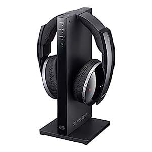 Sony MDR-DS6500 - Auriculares inalámbricos (7.1 canales, transmisión por radiofrecuencia, 20 horas de batería, sonido surround virtual) color negro
