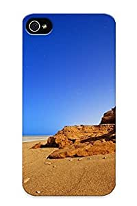 Podiumjiwrp Shock-dirt Proof Rusty Rock On Sandy Beach Case Cover Design Samsung Galxy S4 I9500/I9502 - Best Lovers