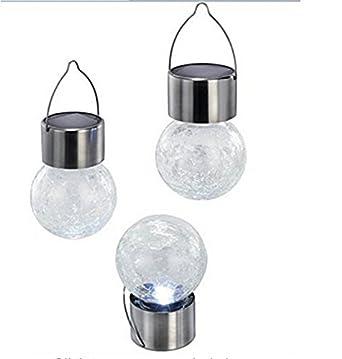 Amazon.com: Paquete de 3 piezas de globo de cristal ...