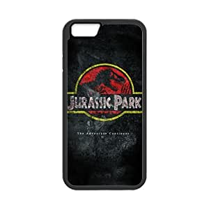 Zyhome iPhone6 Retro Jurassic Park Logo Case Cover for iPhone6 4.7 (Laser Technology)