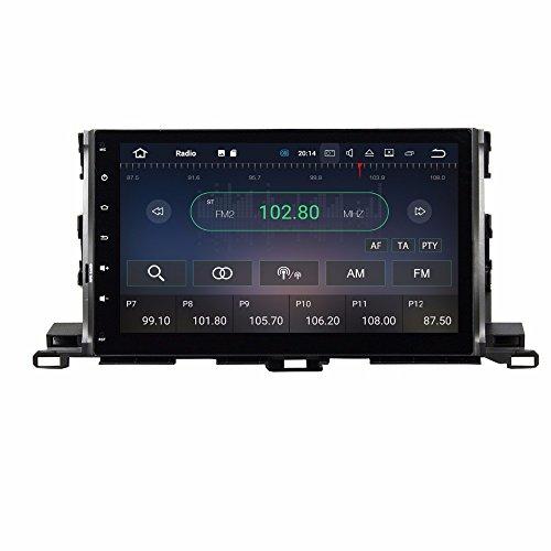 BoCID Quad Core 10.1'' Android 7.1 Car DVD Player for Toyota Highlander 2015 With 2GB RAM Radio GPS WIFI Bluetooth USB DVR 16GB ROM by BoCID (Image #2)