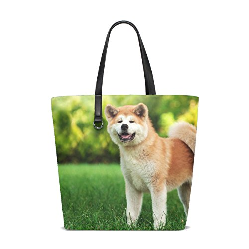 te Yellow Pet Small Fluffy Little Tote Bag Purse Handbag For Women Girls ()